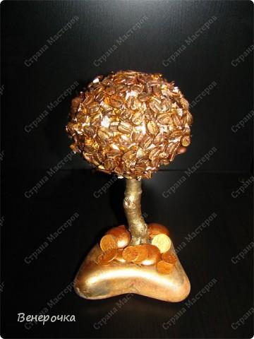 Золотое кофейное дерево! фото 1