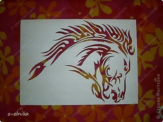 Рисунок лошади нашла на просторах интернета. Кое-что доделала, кое-как переделала. Вот что получилось. фото 3