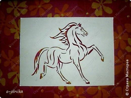 Рисунок лошади нашла на просторах интернета. Кое-что доделала, кое-как переделала. Вот что получилось. фото 5