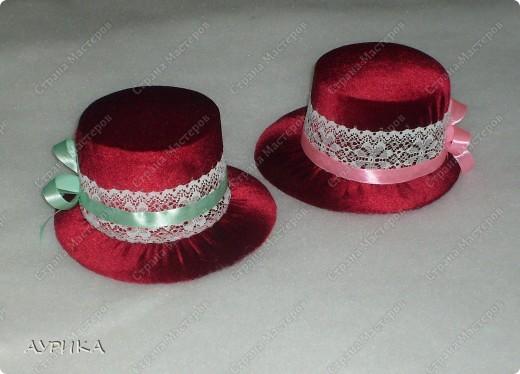 Очень понравилась шляпка-игольница (автор Ликма). Решила попробовать и увлеклась. Одну оставлю себе, а остальные раздарю подругам. фото 1