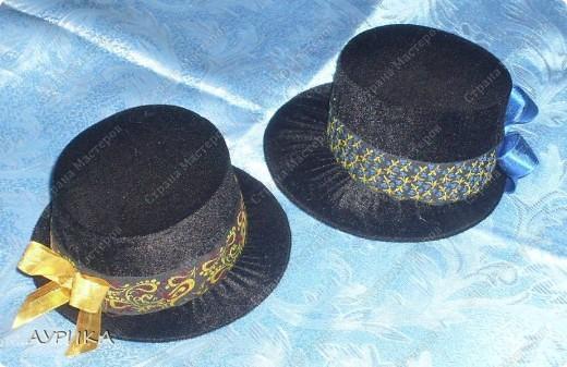 Очень понравилась шляпка-игольница (автор Ликма). Решила попробовать и увлеклась. Одну оставлю себе, а остальные раздарю подругам. фото 2