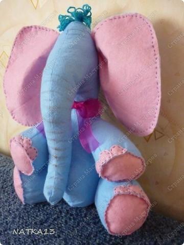 этого слонопотама сшил сын под моим руководством( еще без глаз конечно ,ну очень хотелось показать ) фото 2