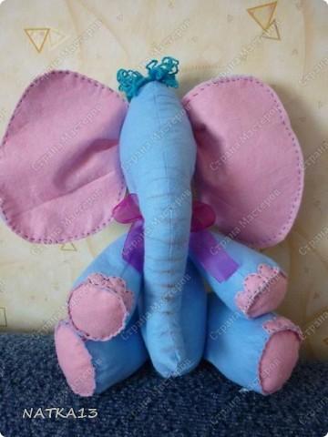 этого слонопотама сшил сын под моим руководством( еще без глаз конечно ,ну очень хотелось показать ) фото 1