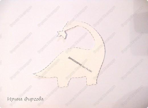 """Пройдя по окружающему миру тему """"Динозавры"""", мы с Асей сделали поделку на закрепление материала))) фото 3"""