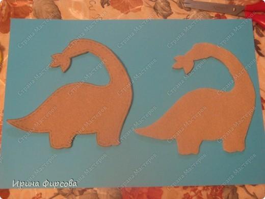 """Пройдя по окружающему миру тему """"Динозавры"""", мы с Асей сделали поделку на закрепление материала))) фото 4"""