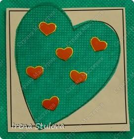 Наши с Настей валентинки. Скачала в интернете раскраску, разрезала на сердечки и дала Насте. Она увидела валентинки моих малышей и решила делать только такие. фото 13