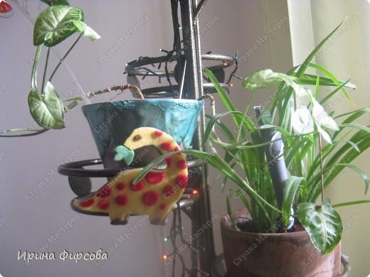 """Пройдя по окружающему миру тему """"Динозавры"""", мы с Асей сделали поделку на закрепление материала))) фото 8"""