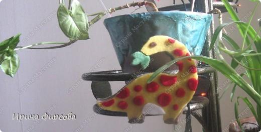 """Пройдя по окружающему миру тему """"Динозавры"""", мы с Асей сделали поделку на закрепление материала))) фото 9"""