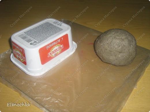 Лепка хлеба фото 1