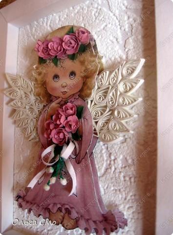 Вот такой подарок я сделала на день рождения маме. Большое спасибо за идею рамочки Муничка http://stranamasterov.ru/node/144173 Картинку распечатала на принтере. фото 6
