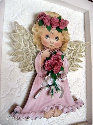 Вот такой подарок я сделала на день рождения маме. Большое спасибо за идею рамочки  Муничка http://stranamasterov.ru/node/144173 Картинку распечатала на принтере. фото 7