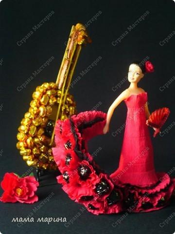 фламенко танец страсти (букет из конфет) фото 5