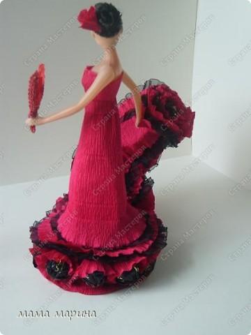 фламенко танец страсти (букет из конфет) фото 3