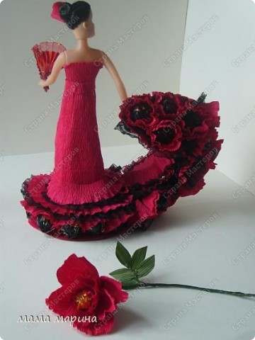 фламенко танец страсти (букет из конфет) фото 2