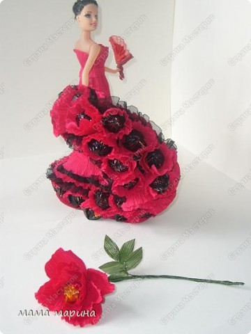 фламенко танец страсти (букет из конфет) фото 1