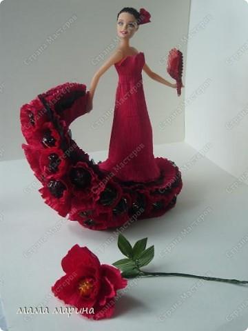 фламенко танец страсти (букет из конфет) фото 4