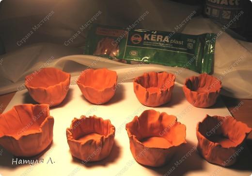 """Девочки, малявочек налепила, но как их оформить - вопрос открытый :о( Купила сегодня """"KERAplast"""" - керамическая масса для моделирования, затвердевающая на воздухе. Наверно я не умею ей пользоваться :о( Но упаковка вскрыта...надо что-то делать...иначе затвердеет..и на выброс.  Плюс пока один - 300гр - 80руб. фото 2"""