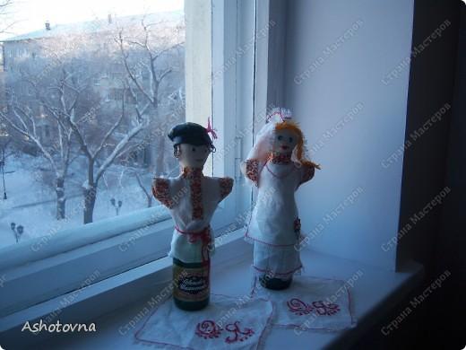 куклы на шампанское фото 1