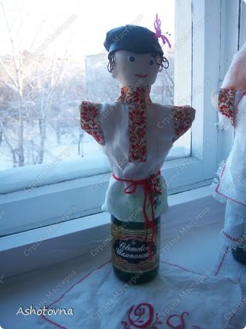 куклы на шампанское фото 3