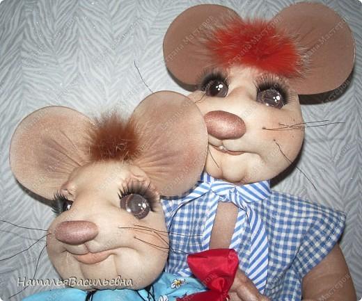 Мышка-первоклашка и мышак-выпускник :) фото 2
