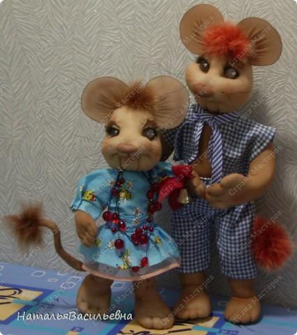 Мышка-первоклашка и мышак-выпускник :) фото 1