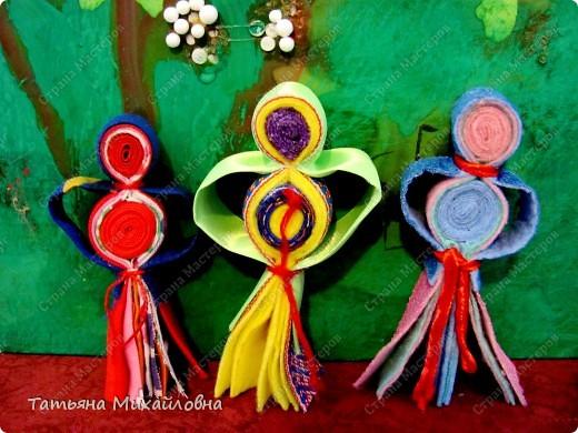 Даю обещанный МК. Эта куколка распространена в северном Прикамье у народов коми-зырян и манси.  фото 12