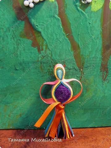 Даю обещанный МК. Эта куколка распространена в северном Прикамье у народов коми-зырян и манси.  фото 13