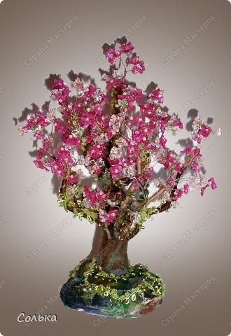 Вот такое миндальное деревце родилось, благодаря ГУЛЬКЕ.. http://stranamasterov.ru/user/46912 фото 1