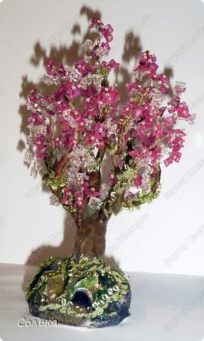 Вот такое миндальное деревце родилось, благодаря ГУЛЬКЕ.. http://stranamasterov.ru/user/46912 фото 11