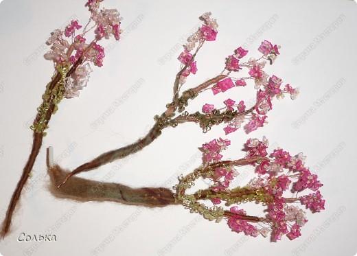 Вот такое миндальное деревце родилось, благодаря ГУЛЬКЕ.. http://stranamasterov.ru/user/46912 фото 9