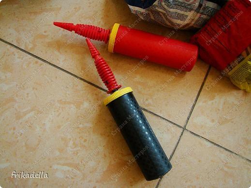 Предлагаю попробовать сделать самостоятельно колонну из воздушных шариков на основе обычной гирлянды. фото 4