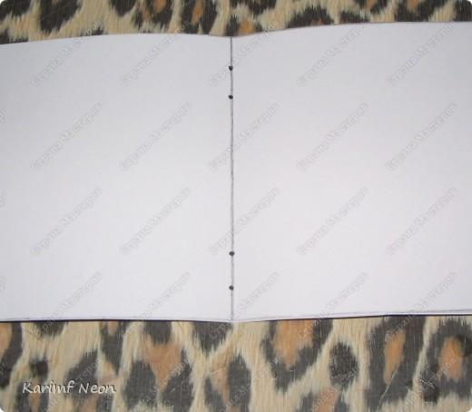 Такой переплёт книг мы делали ещё в школе.  Я постоянно делаю такие блокноты.  Кстати, бумагу можно использовать и самодельную. фото 3