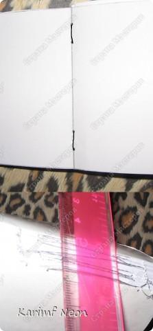 Такой переплёт книг мы делали ещё в школе.  Я постоянно делаю такие блокноты.  Кстати, бумагу можно использовать и самодельную. фото 11