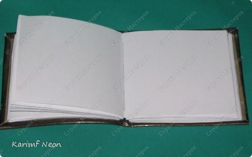 Такой переплёт книг мы делали ещё в школе.  Я постоянно делаю такие блокноты.  Кстати, бумагу можно использовать и самодельную. фото 18