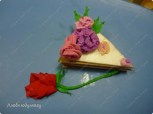 Кусочек слоёного тортика фото 1