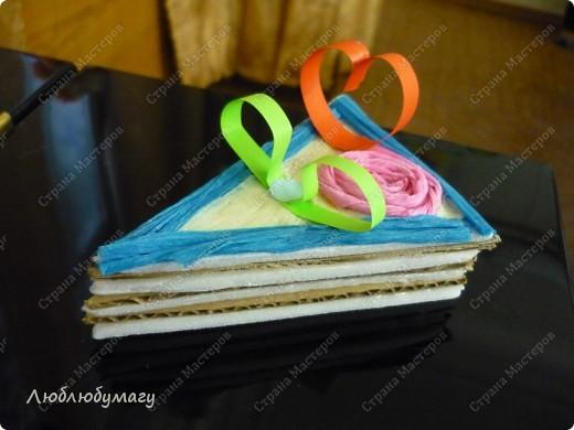Кусочек слоёного тортика фото 9