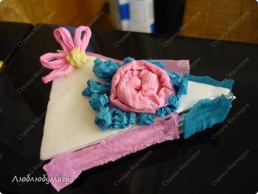 Кусочек слоёного тортика фото 11