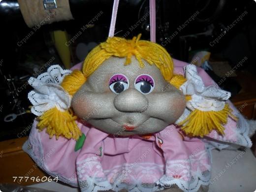 самая первая куколка,очень понравилось их делать.... фото 5