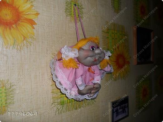 самая первая куколка,очень понравилось их делать.... фото 4