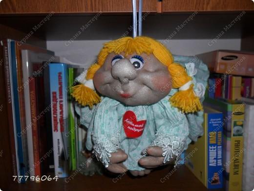 самая первая куколка,очень понравилось их делать.... фото 3