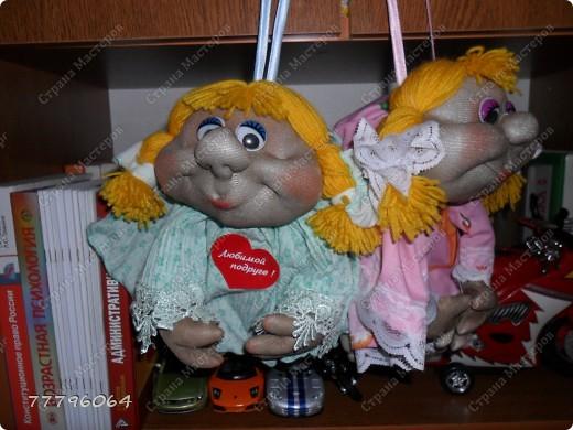самая первая куколка,очень понравилось их делать.... фото 9