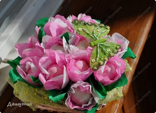Сладкие букетики к 8 марта) фото 7