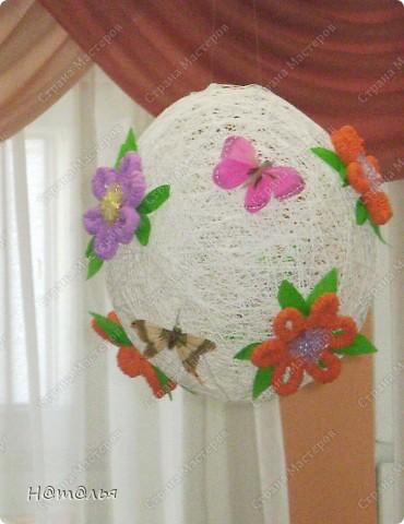 Одно из украшений нашего музыкального зала к 8 марта были вот такие шары. Все просто, но, как мне кажется, очень мило))) фото 1