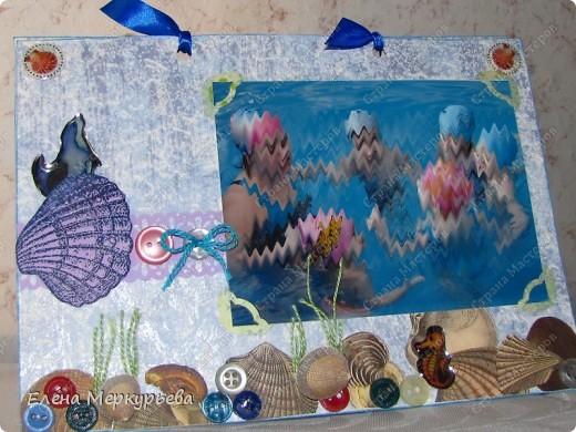 """открытка """"Маленькие рыбки"""" фото 1"""