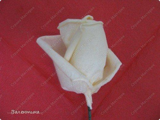 Мастер-класс Мастер-класс розы из бумажных салфеток Салфетки фото 18