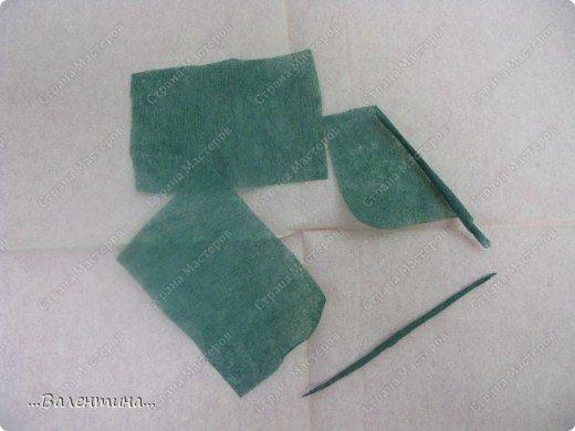 Мастер-класс Мастер-класс розы из бумажных салфеток Салфетки фото 21