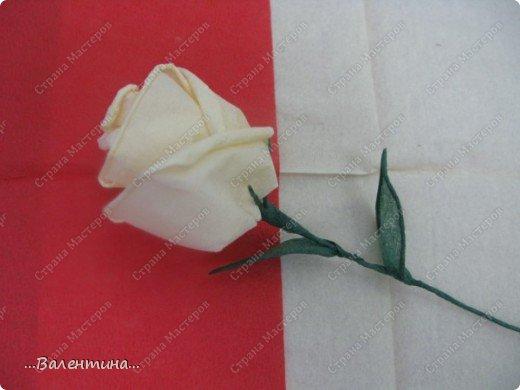Мастер-класс Мастер-класс розы из бумажных салфеток Салфетки фото 27