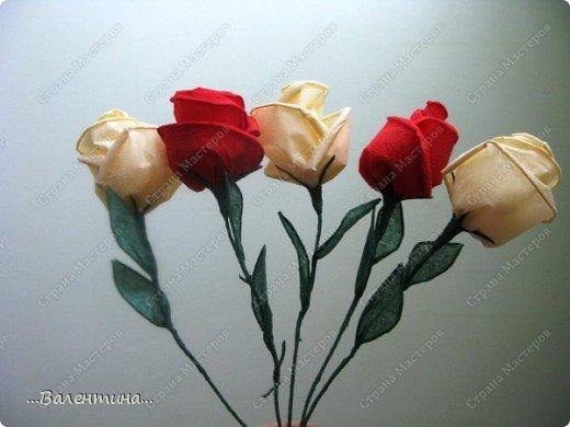 Мастер-класс Мастер-класс розы из бумажных салфеток Салфетки фото 1