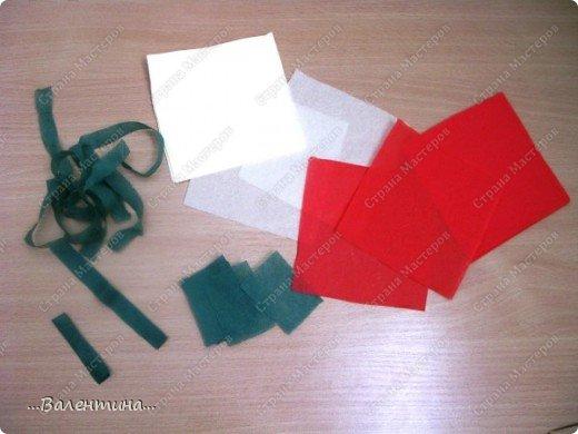 Мастер-класс Мастер-класс розы из бумажных салфеток Салфетки фото 3