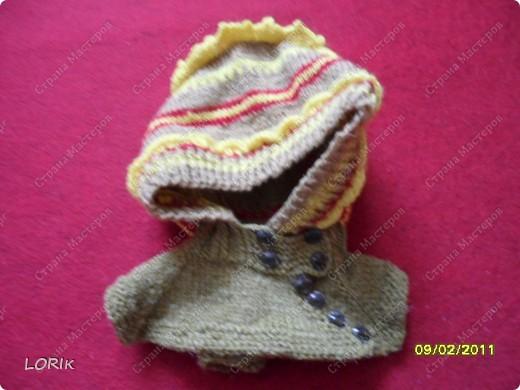 Вот такие шапочки вязала для сына. Прошу прощения за некоторые плохие снимки, не всегда получается хорошо сфотографировать. фото 4